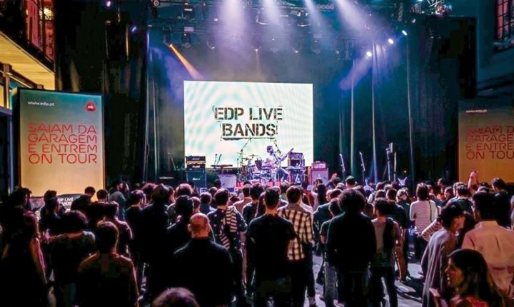 EDP LIVE BANDS: CONCERTOS A PARTIR DE CASA