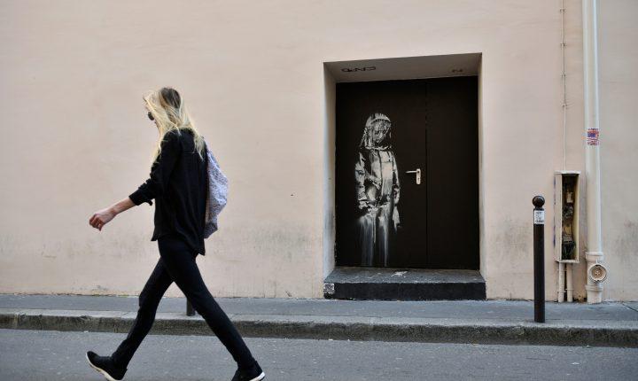 """""""Porta de Banksy"""" regressa a França"""