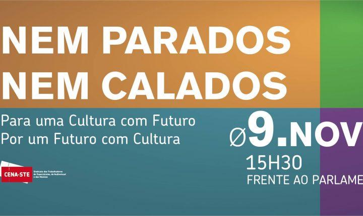 Cultura protesta segunda-feira