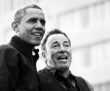 "Obama e Springsteen em ""Renegades: Born in the USA"""