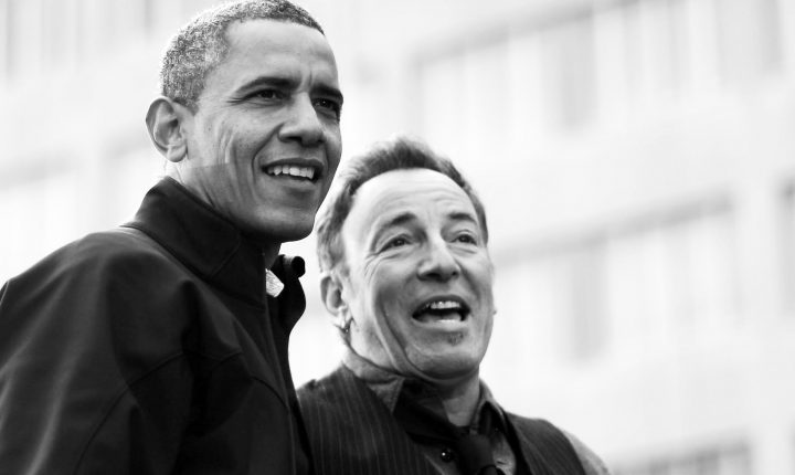 "Obama e Springsteen em ""Renegades: Born in the USA"""