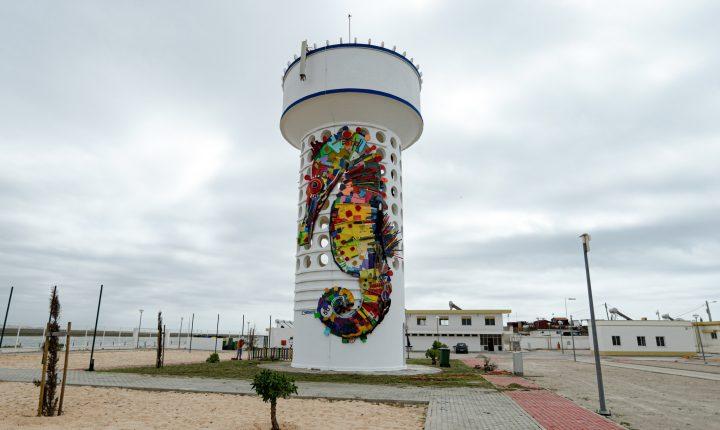Esculturas de Bordalo II em Faro