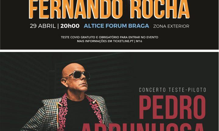 Concertos-piloto acontecem no Altice Braga Forum