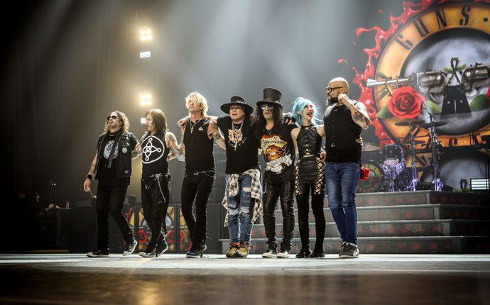 Guns N' Roses: nova data em Portugal