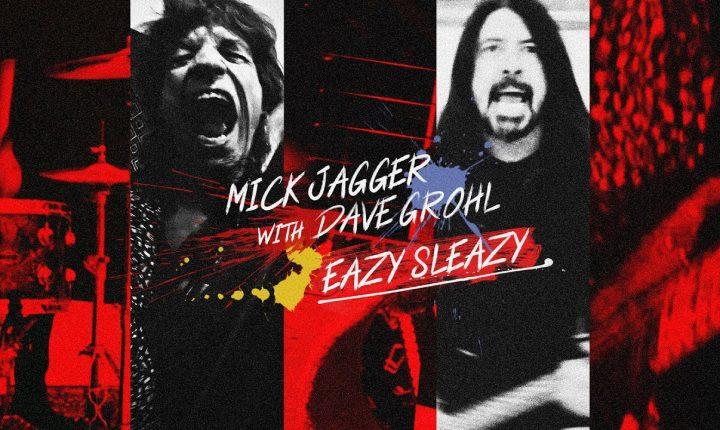 Mick Jagger e Dave Grohl: juntos numa nova canção