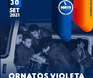 Ornatos Violeta no North Music Festival